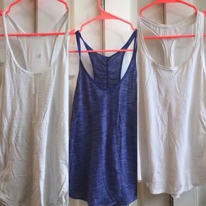 BUNDLE Of 3 Lululemon tanks!